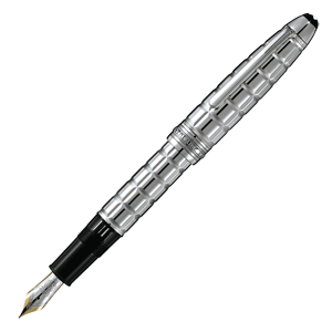 38237 Перьевая ручка Montblanc Meisterstuck Platinum-Plated Facet Le Grand