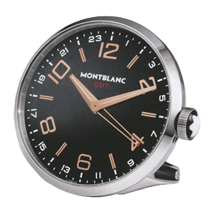"104295 Круглые часы Montblanc ""TTP Timewalker Desk Clock"""